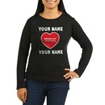 Personal Love Gift Women's Long Sleeve Dark T-Shir
