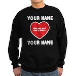Personal Love Gift Sweatshirt (dark)