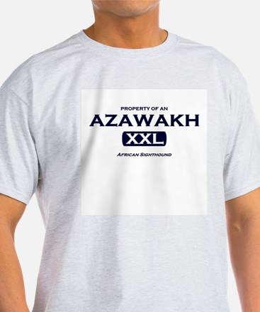 Property of Azawakh Grey T-Shirt
