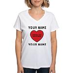 Personal Love Gift Women's V-Neck T-Shirt
