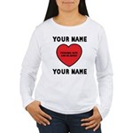Personal Love Gift Women's Long Sleeve T-Shirt