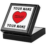 Personal Love Gift Keepsake Box