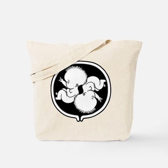 Rock Belly Duet Tote Bag