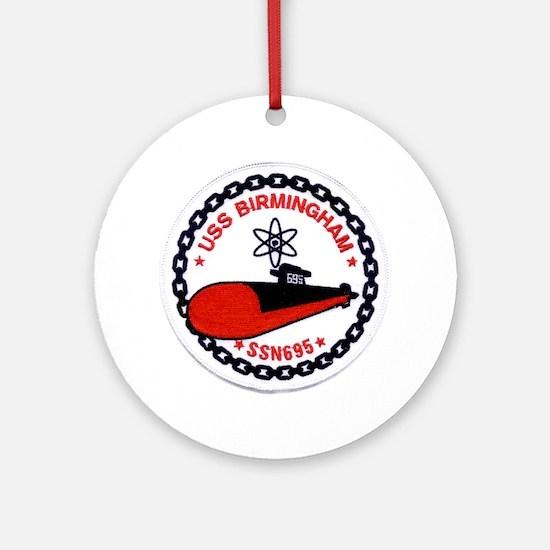 USS BIRMINGHAM Ornament (Round)