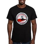 USS BIRMINGHAM Men's Fitted T-Shirt (dark)