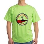 USS BIRMINGHAM Green T-Shirt