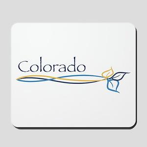 Colorado/Aspen tree branch Mousepad