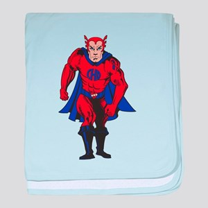 Color CHD Hero baby blanket
