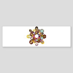 Circle Of Women Sticker (Bumper)