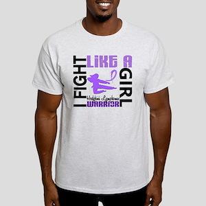 Licensed Fight Like a Girl 3.2 H Lym Light T-Shirt