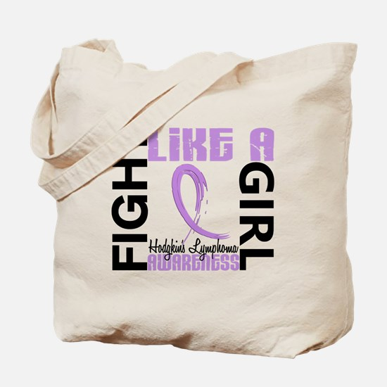 Licensed Fight Like a Girl 3.3 H Lymphoma Tote Bag