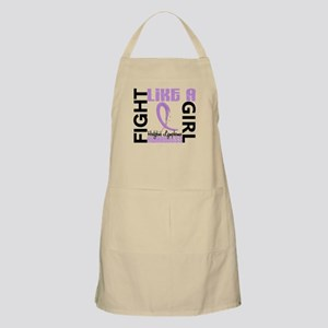 Licensed Fight Like a Girl 3.3 H Lymphoma Apron