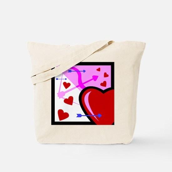 HEARTS & ARROW {13} Tote Bag