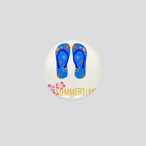 summer time Mini Button