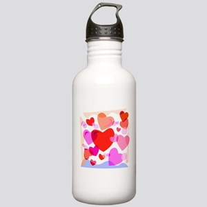 HEARTS {32} Stainless Water Bottle 1.0L