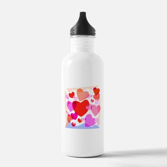 HEARTS {32} Water Bottle