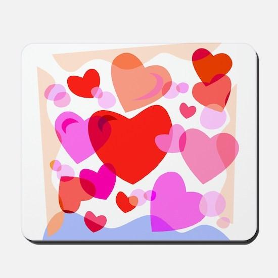 HEARTS {32} Mousepad