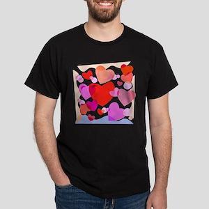 HEARTS {32} Dark T-Shirt