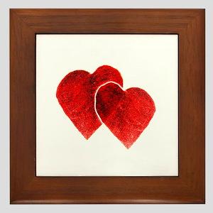 HEARTS {33} Framed Tile