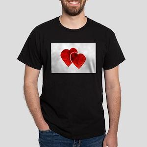 HEARTS {33} Dark T-Shirt
