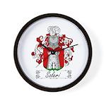 Soleri Family Crest Wall Clock