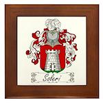 Soleri Family Crest Framed Tile
