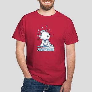 Aquarius Westie Dark T-Shirt