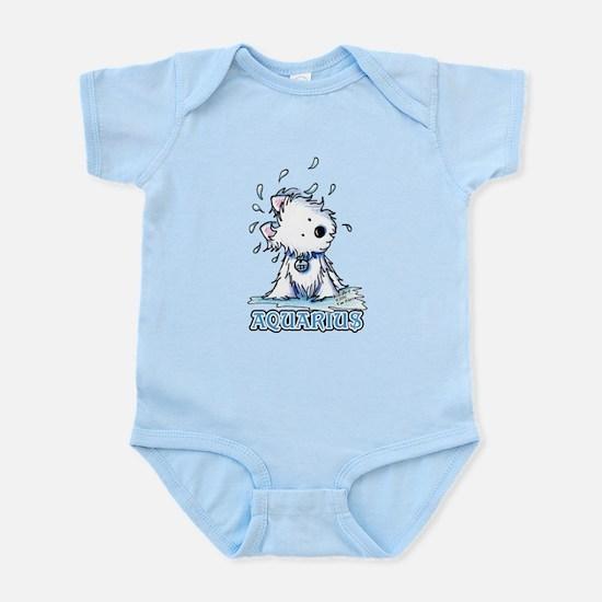 Aquarius Westie Infant Bodysuit