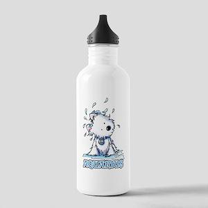 Aquarius Westie Stainless Water Bottle 1.0L