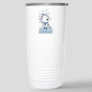 Aquarius Westie Stainless Steel Travel Mug