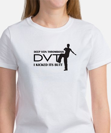 DVT - I kicked its Butt Women's T-Shirt