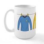 Trek Laundry - Shirts Large Mug