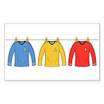 Trek Laundry - Shirts Sticker (Rectangle 50 pk)
