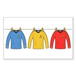 Trek Laundry - Shirts Sticker (Rectangle 10 pk)