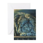 Temple Lion Greeting Cards (Pk of 10)