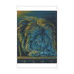 Temple Lion Mini Poster Print