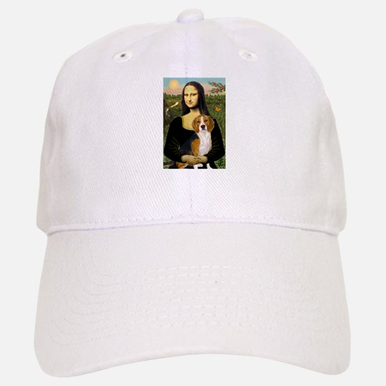 Mona and her Beagle Baseball Baseball Cap