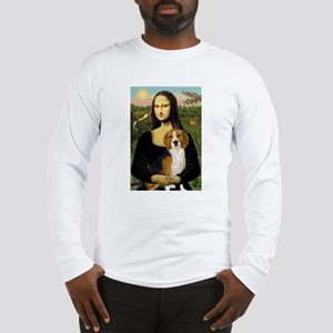 Mona and her Beagle Long Sleeve T-Shirt