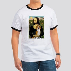 Mona and her Beagle Ringer T