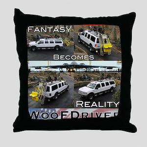Fantasy To Reality Throw Pillow