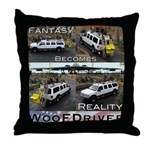 Fantasy To Reality Throw Pillow