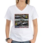 Fantasy To Reality Women's V-Neck T-Shirt
