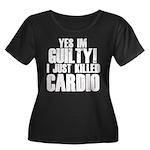 Killed Cardio Women's Plus Size Scoop Neck Dark T-