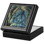 Temple Lion Keepsake Box