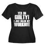 Killed My Workout Women's Plus Size Scoop Neck Dar