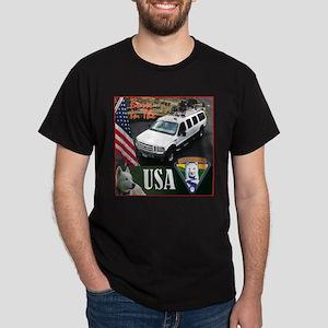 Born In The USA (Truck) Dark T-Shirt