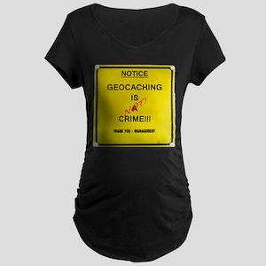 Cache Crime Maternity Dark T-Shirt