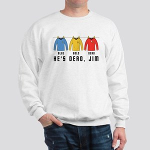 Trek Laundry He's Dead Jim Sweatshirt