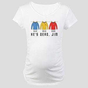 Trek Laundry He's Dead Jim Maternity T-Shirt