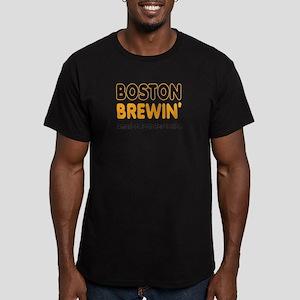 Boston Brewin' Men's Fitted T-Shirt (dark)